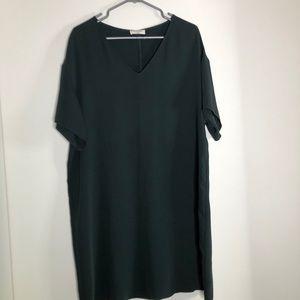 Babaton tee shirt dress